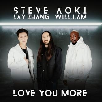 Steve Aoki taps will.i.am and Lay Zhang for Love You More
