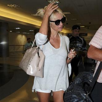 Pamela Anderson Is A Strict Parent