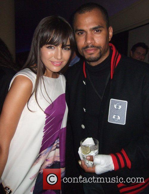 Camilla Belle, MTV moderator Patrice Bouedibela Aftershow-party for...