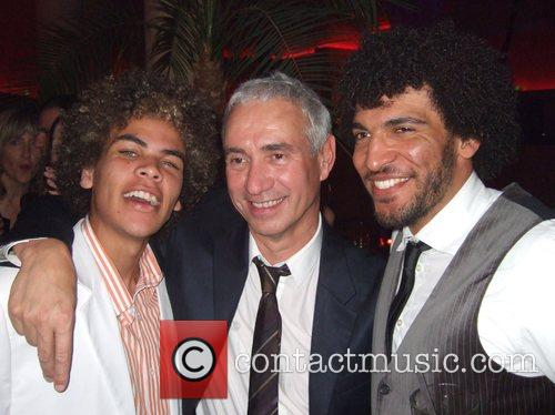 Roland Emmerich and Cast Member 1