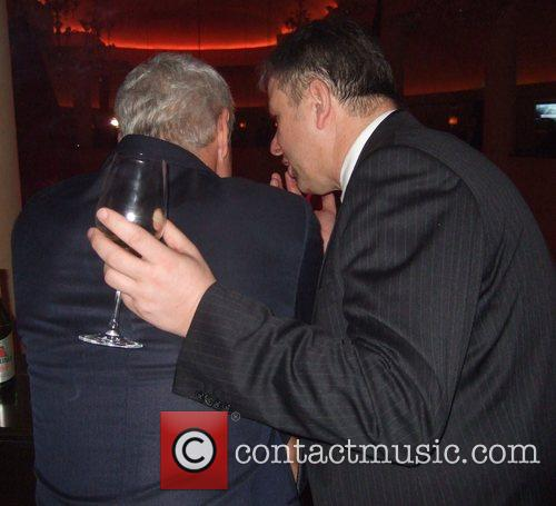 Roland Emmerich, Klaus Wowereit Aftershow-party for the World...