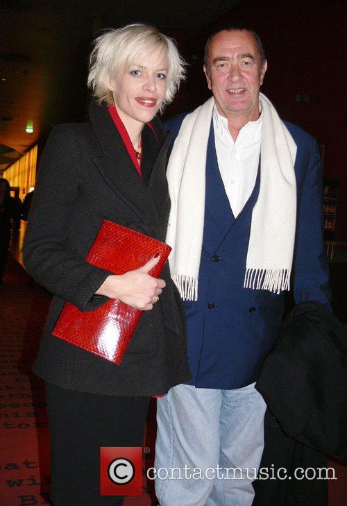 Bernd Eichinger, his wife Katja World Premiere of...