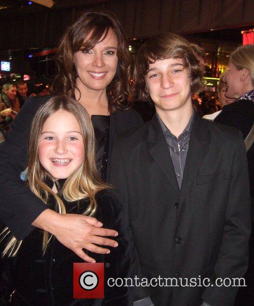 Desiree Nosbusch, her daughter Luka, her son Lennon...