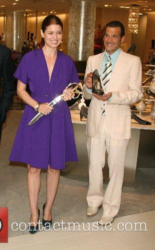 Debra Messing and Phillip Bloch 3