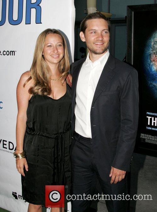 Tobey Maguire and Jennifer Meyer 2