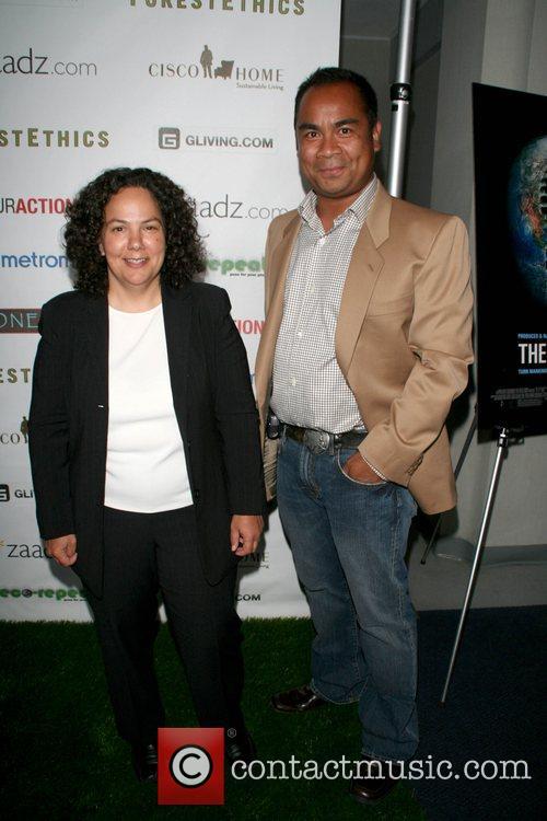 Susan Sutley & Romel Pascal '11th Hour' screening...