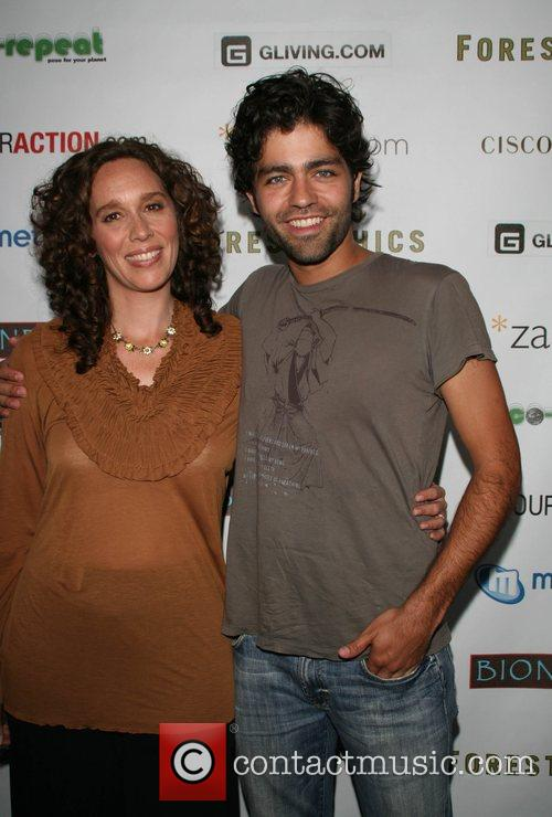 Tzeporah Berman & Adrian Grenier '11th Hour' screening...