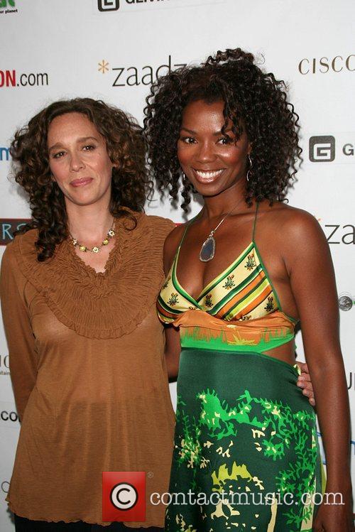Vanessa Williams & Tzeporah Berman '11th Hour' screening...