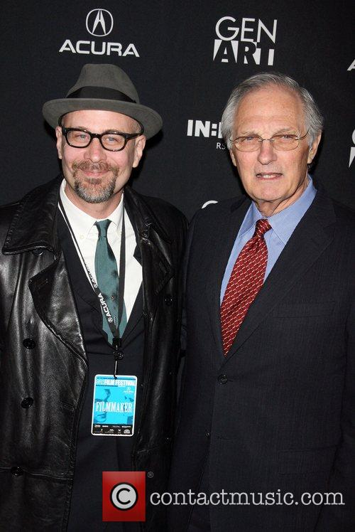 Terry Kinney and Alan Alda 1