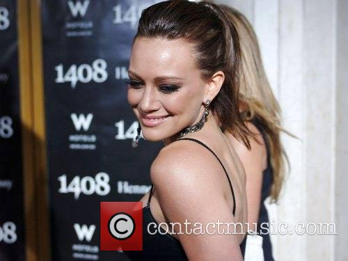 Hilary Duff and Haylie Duff World Premiere of...