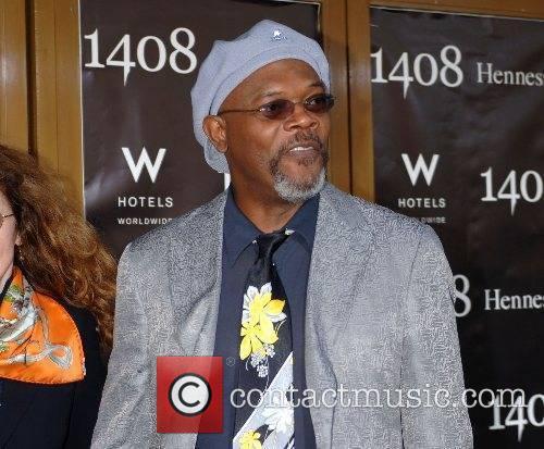 Samuel L Jackson World Premiere of '1408' held...