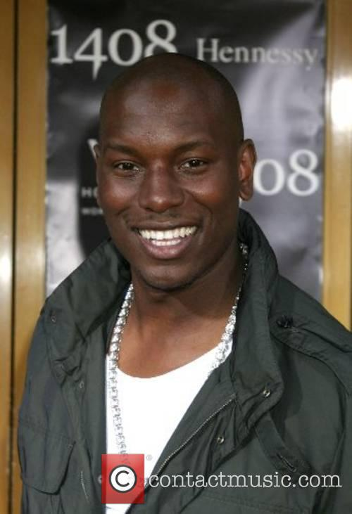 Tyrese Gibson World Premiere of '1408' held at...