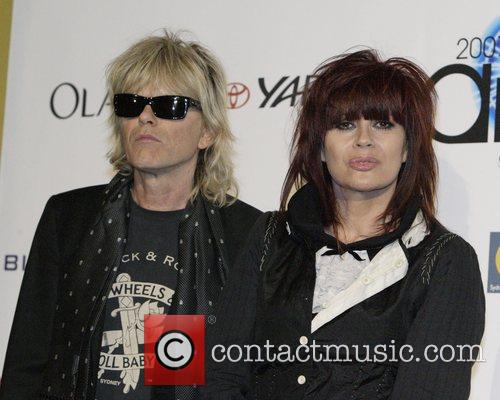 Chrissy Amphlett and Mark McEntree  2007 ARIA...