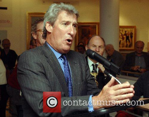 Jeremy Paxman 20th British Art Fair opening at...
