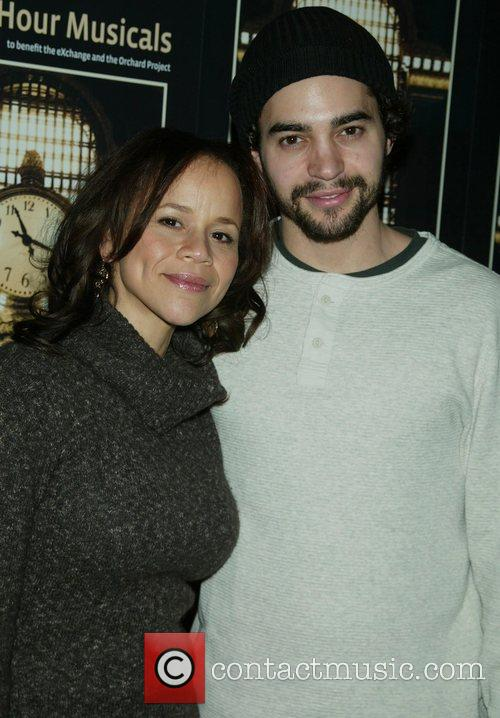 Rosie Perez and Ramon Rodriguez 6