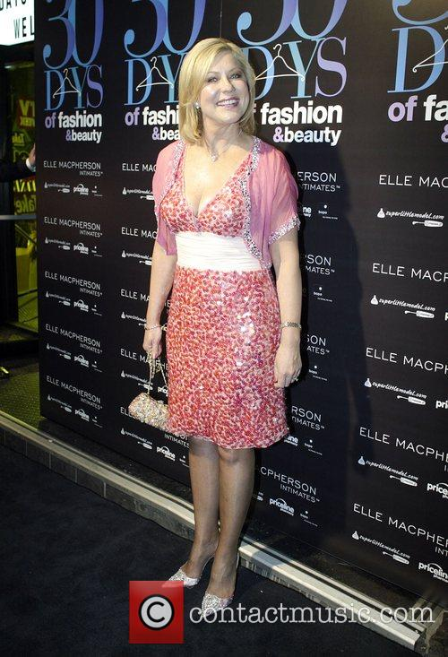 Kerri-Anne Kennerley The official launch party for 30...