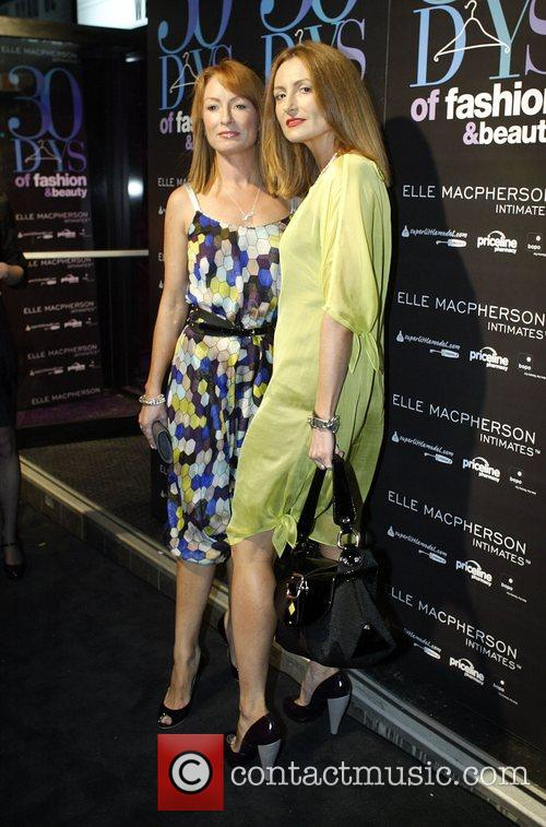 Alexandra Smart and Genevieve Smart The official launch...