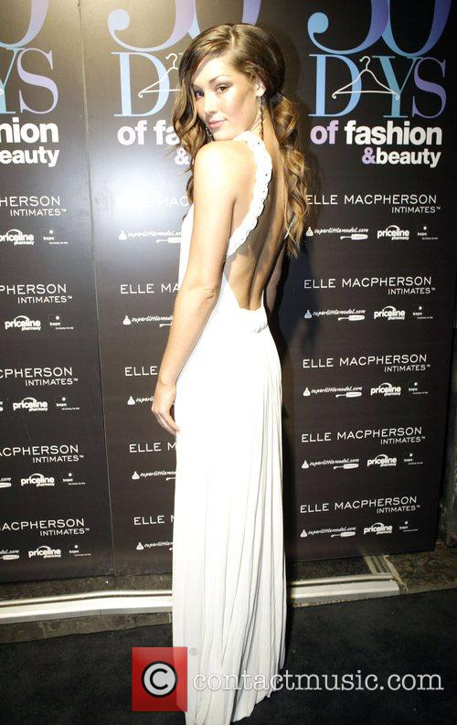 Miss Australia Erin McNaught The official launch party...