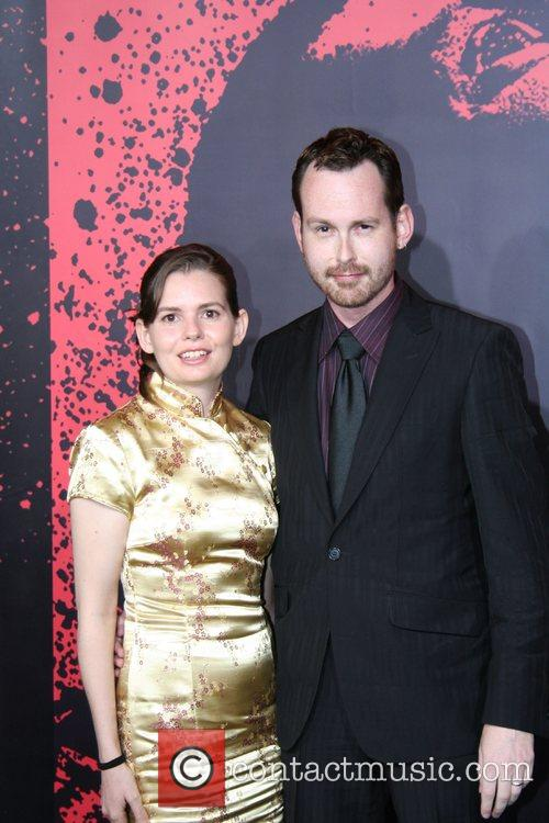 Ben Templesmith and Wife Los Angeles Premiere of...
