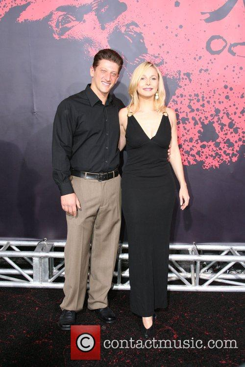 Josh Feinman and Elle Travis Los Angeles Premiere...