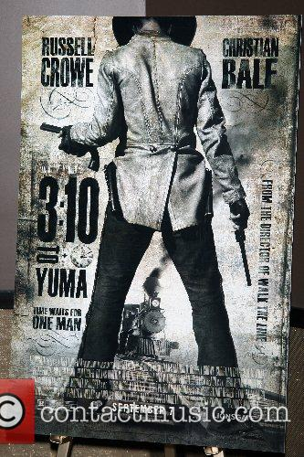 Poster Special Screening of '3:10 To Yuma' at...