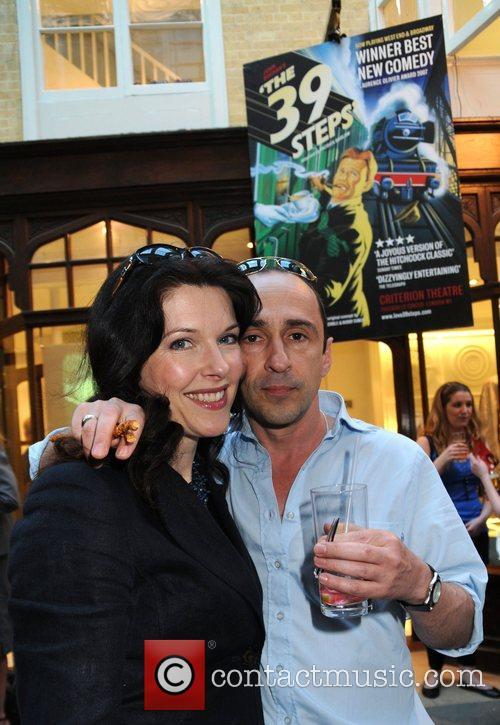 Josefina Gabrielle and actor Simon Gregor  '39...