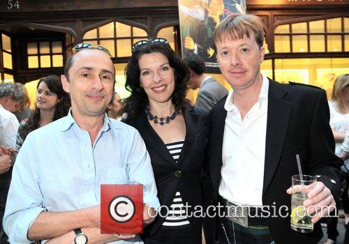 Simon Gregor, Josefina Gabrielle and Edward Snape '39...
