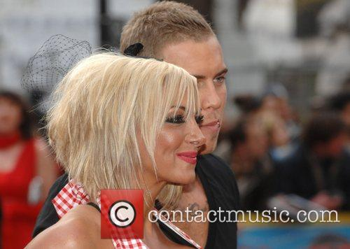 Jodie Marsh Charity World premiere of 'Three and...