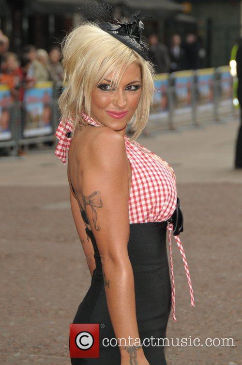 Jodie Marsh  at the UK film premiere...