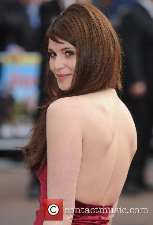 Gemma Arterton  at the premiere of 'Three...