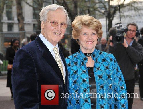 Nicholas Parsons Charity World premiere of 'Three and...