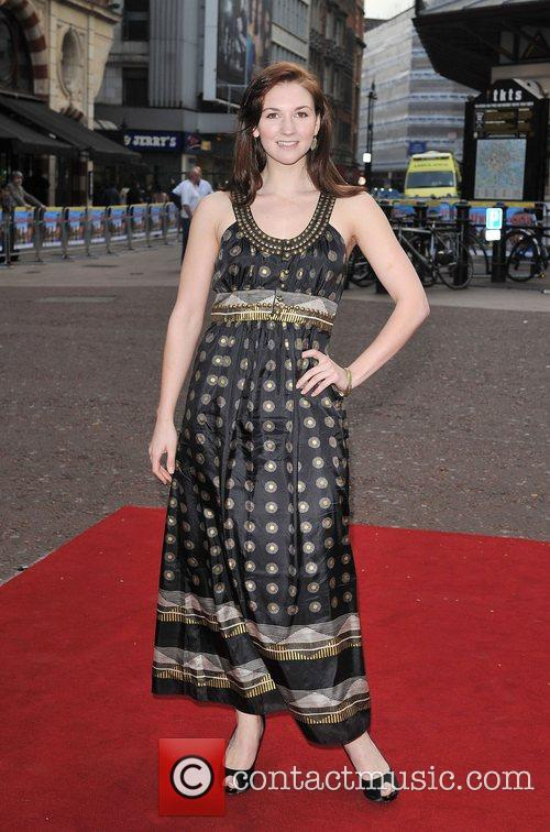 Summer Strallen Charity World premiere of 'Three and...