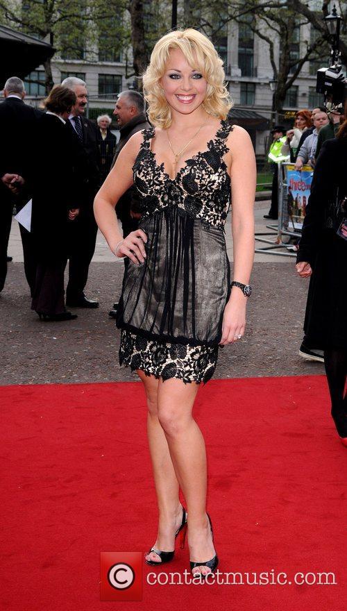 Gemma Garrett  at the UK film premiere...