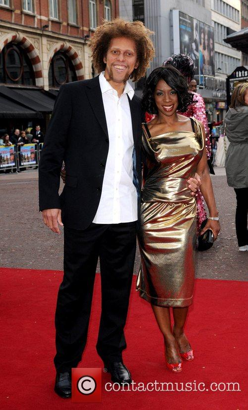 Heather Small and guest at the UK film...