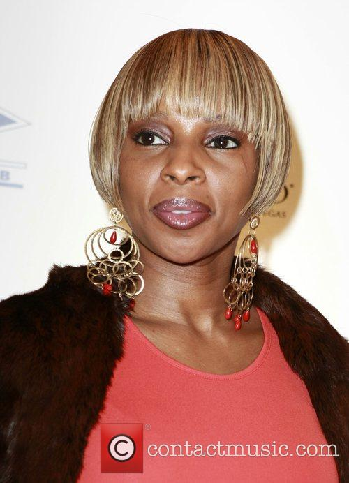 Mary J.Blige Grand opening of The 40/40 Club,...