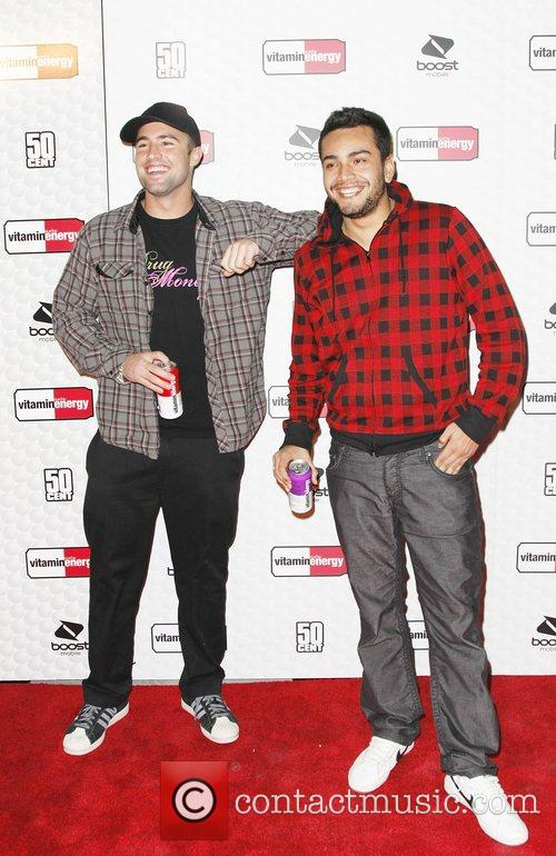 50 cent and Vitaminenergy host a Naked Ping...