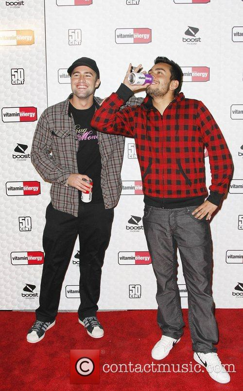 Brody Jenner and Frankie Delgado 50 cent and...