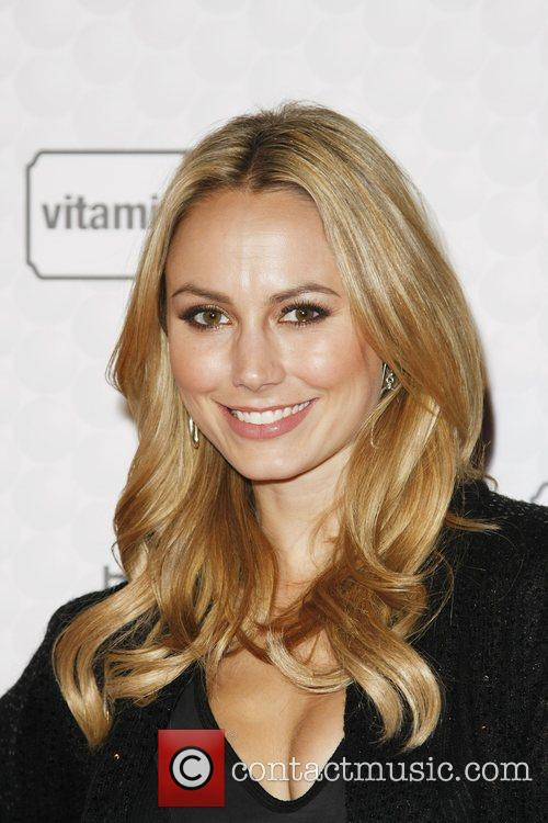Stacy Keibler 50 cent and Vitaminenergy host a...