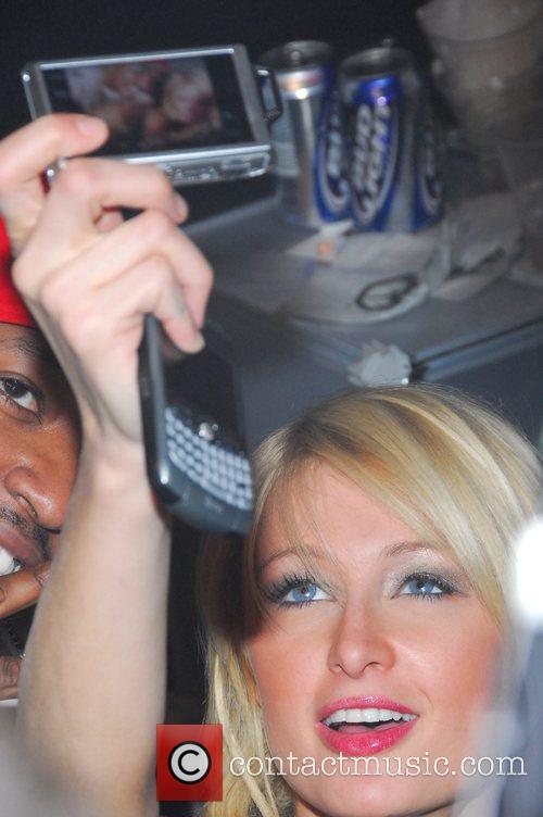 Paris Hilton 50 Cent Superbowl Party hosted by...