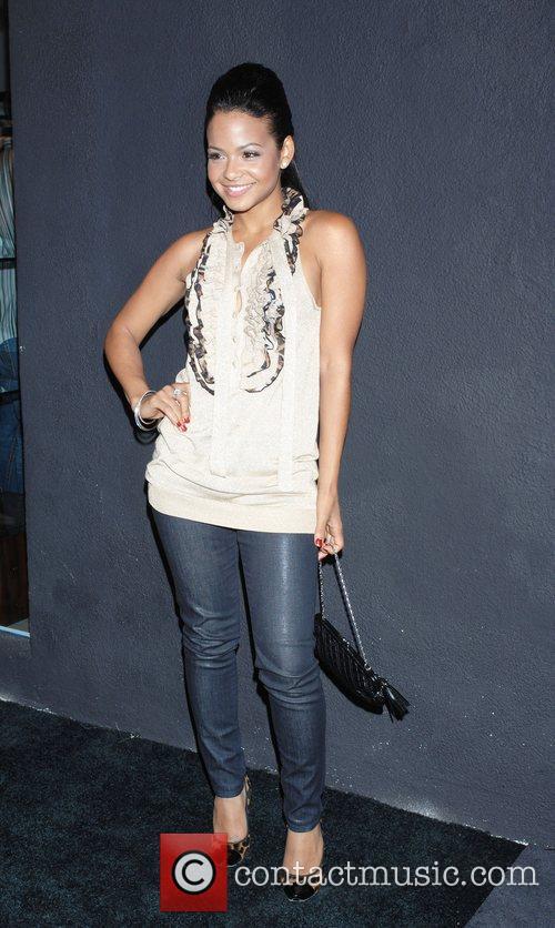 Christina Milian '7 For All Mankind' celebrates the...