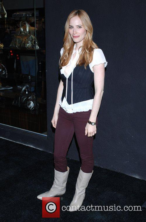 Jaime Ray Newman '7 For All Mankind' celebrates...