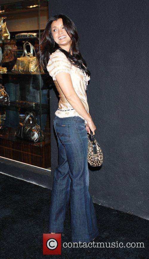 Kelly Hu '7 For All Mankind' celebrates the...