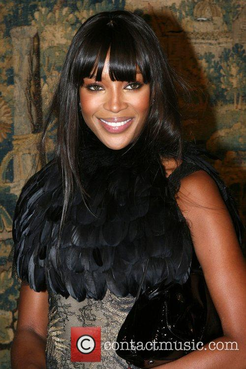 Naomi Campbell 7th On Sale Black Tie Gala at the 69th Regiment Armory
