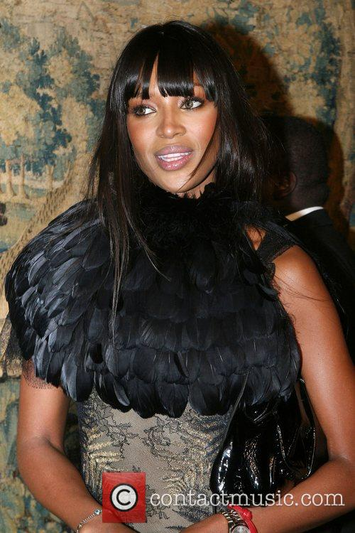 Naomi Campbell 7th On Sale Black Tie Gala...