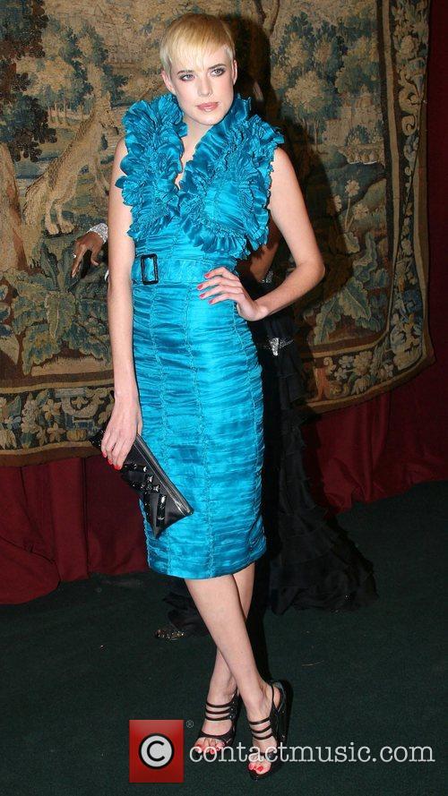 Agyness Deyn 7th On Sale Black Tie Gala...