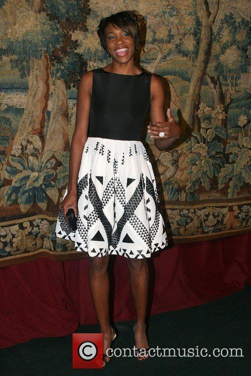 Venus Williams 7th On Sale Black Tie Gala...