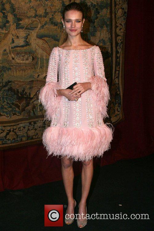 Natalia Vodianova 7th On Sale Black Tie Gala...