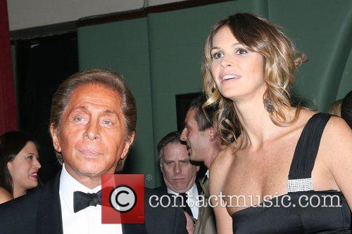 Valentino and Elle MacPherson 7th On Sale Black...