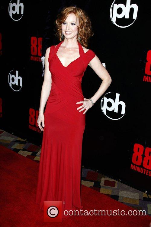 Alicia Witt The World Premiere of '88 Minutes'...