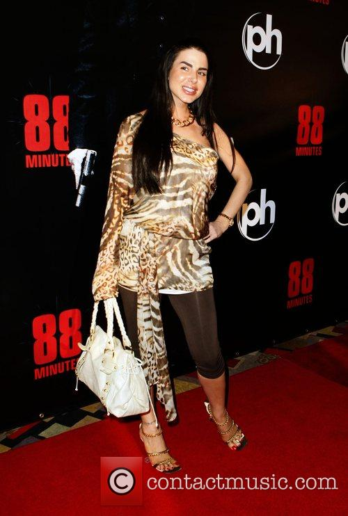 Tishara Cousino The World Premiere of '88 Minutes'...
